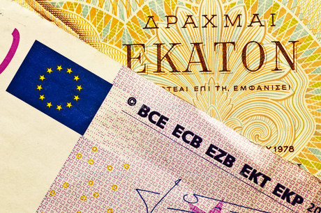 drachma or euroの素材 [FYI00838976]