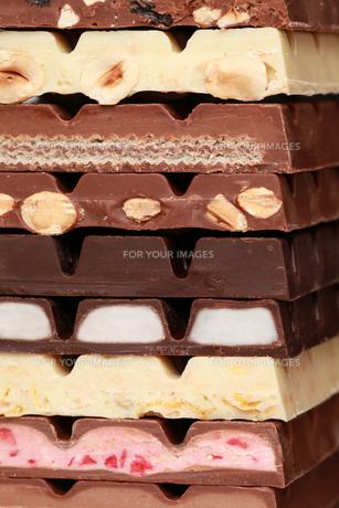 stack of chocolateの素材 [FYI00839024]