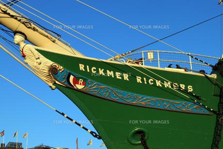 figurehead of the rickmer rickmersの素材 [FYI00839564]