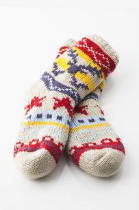 warm socksの写真素材 [FYI00839670]