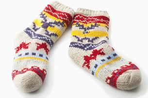 warm socksの写真素材 [FYI00839691]