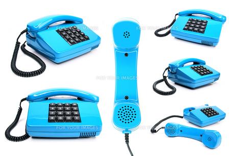 classic telephone collectionの写真素材 [FYI00839884]