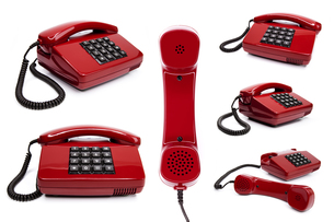 classic telephone collectionの写真素材 [FYI00839898]