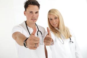 young doctors teamの素材 [FYI00840711]