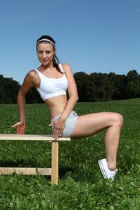 athletic_sportsの写真素材 [FYI00840725]