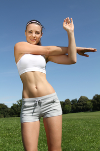 woman in sportsの写真素材 [FYI00840747]