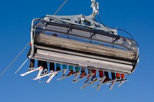 ski liftの写真素材 [FYI00842112]