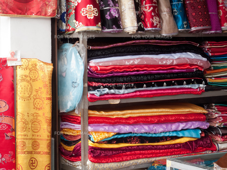 chinese silkの写真素材 [FYI00842325]