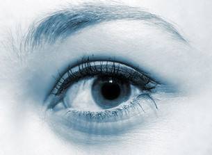 blue eyeの写真素材 [FYI00842795]