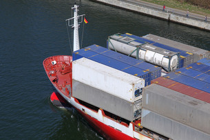 bug a container shipの写真素材 [FYI00843285]