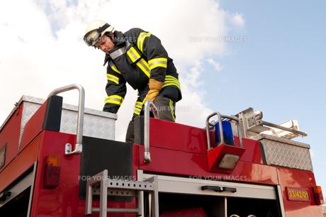 fire brigadeの写真素材 [FYI00843405]
