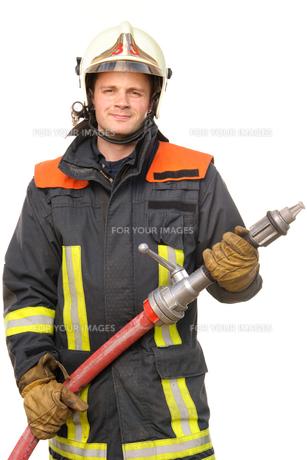 fire brigadeの写真素材 [FYI00843410]