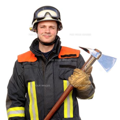 fire brigadeの写真素材 [FYI00843413]
