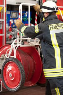 fire brigadeの写真素材 [FYI00843414]