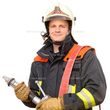 firefighterの写真素材 [FYI00843433]