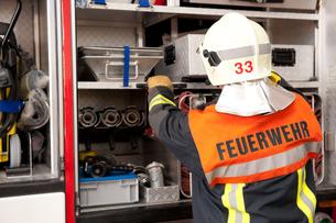 fire brigadeの写真素材 [FYI00843474]