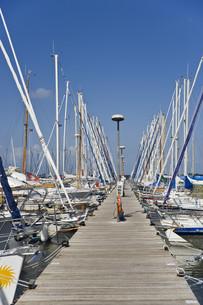marina,heiligenhafen,baltic sea,schleswig-holstein,germany,europeの写真素材 [FYI00843624]