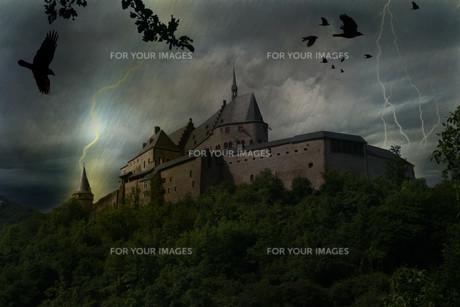 vianden_luxemburgの写真素材 [FYI00843690]