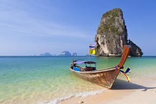 railey beach in thailandの写真素材 [FYI00843873]