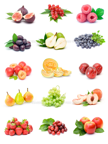 fruit collectionの写真素材 [FYI00843884]