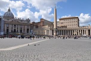 rome,saint peter & # 039  s squareの写真素材 [FYI00844023]