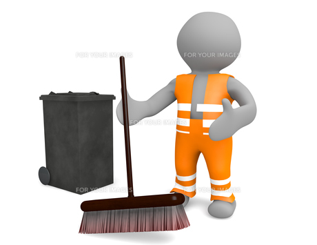 road sweeperの素材 [FYI00845453]