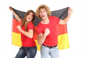 germany fansの写真素材 [FYI00846887]