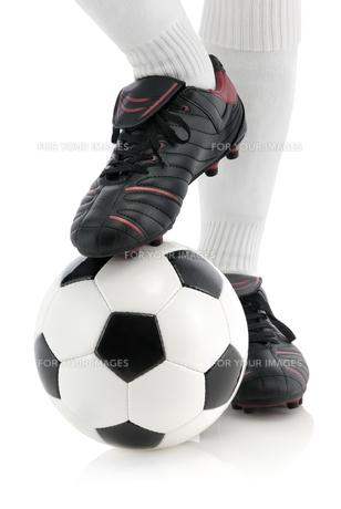 football poseの写真素材 [FYI00846941]
