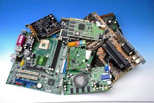 commodity electronic wasteの写真素材 [FYI00847161]
