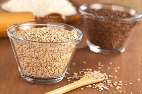 sesame seedsの写真素材 [FYI00847710]