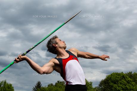 javelin throwerの素材 [FYI00847876]