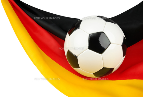 germany in football feverの写真素材 [FYI00847952]