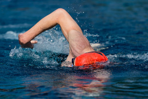 swimmer in competitionの写真素材 [FYI00848000]