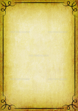 parchment ornament linegrids templateの写真素材 [FYI00848066]