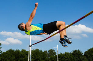 vaulters in athleticsの写真素材 [FYI00849495]