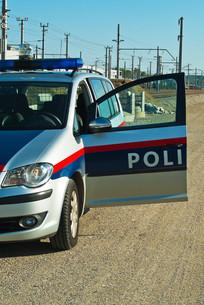 police car executive useの写真素材 [FYI00850766]