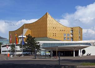 berliner philharmonie germanyの写真素材 [FYI00851227]