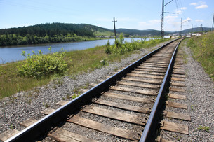 railwayの写真素材 [FYI00852692]