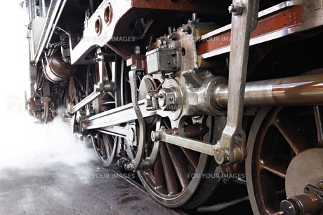 steam locomotiveの素材 [FYI00852810]