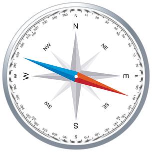 compass windroseの写真素材 [FYI00853714]