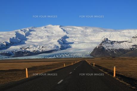 skaftafell national parkの写真素材 [FYI00853769]