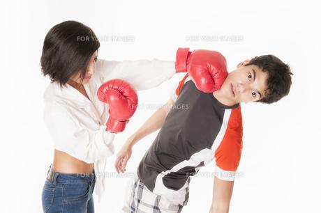 couple fightingの素材 [FYI00854946]