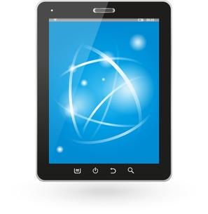 tablet computerの写真素材 [FYI00855043]
