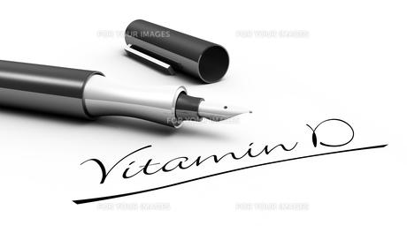 vitamin d - pen conceptの写真素材 [FYI00855316]