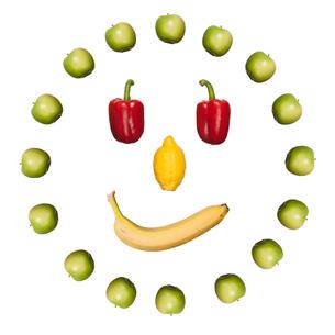 fresh fruit and vegetablesの写真素材 [FYI00855337]
