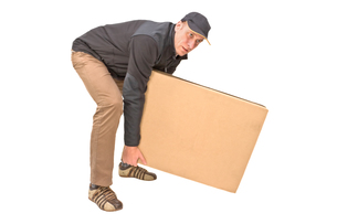 parcel deliveryの写真素材 [FYI00855459]