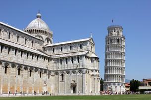square of miracles / piazza del duomo / piazza dei miracoli / square of miraclesの写真素材 [FYI00855509]