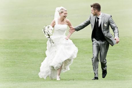 bride and groomの写真素材 [FYI00855693]