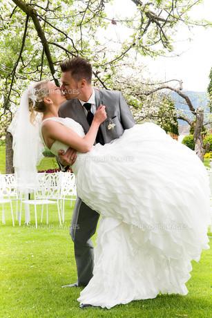bride and groomの写真素材 [FYI00855697]