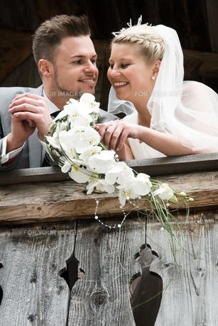 bride and groomの写真素材 [FYI00855705]